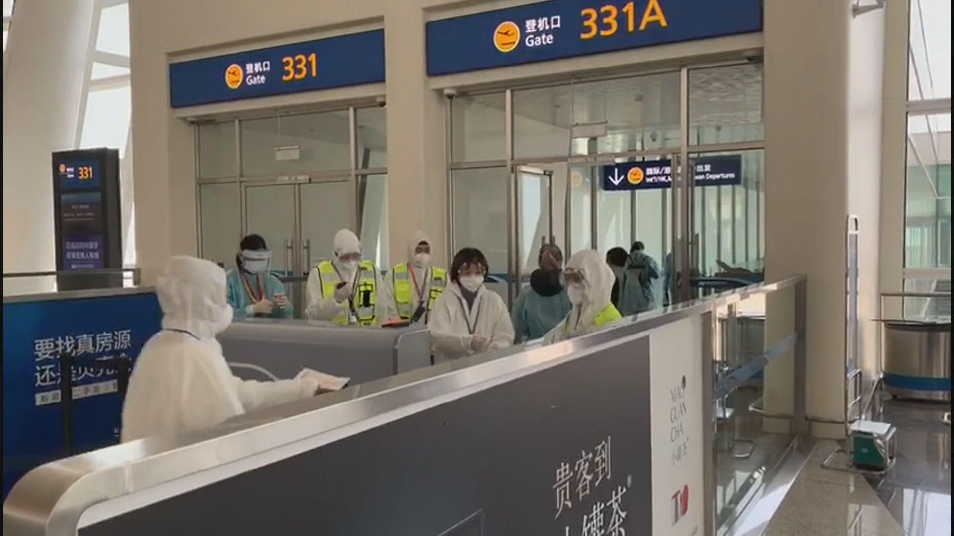 滯留武漢港人乘坐包機 料下午四時三十分抵港