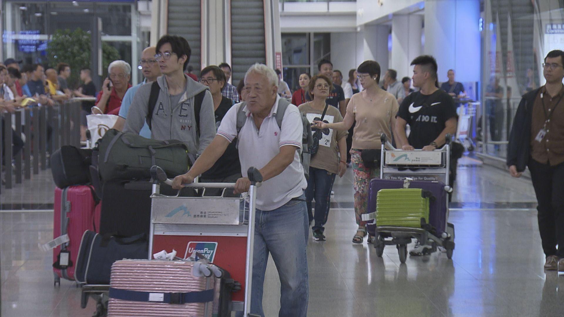 武漢抵港航班乘客必須填寫健康申報表