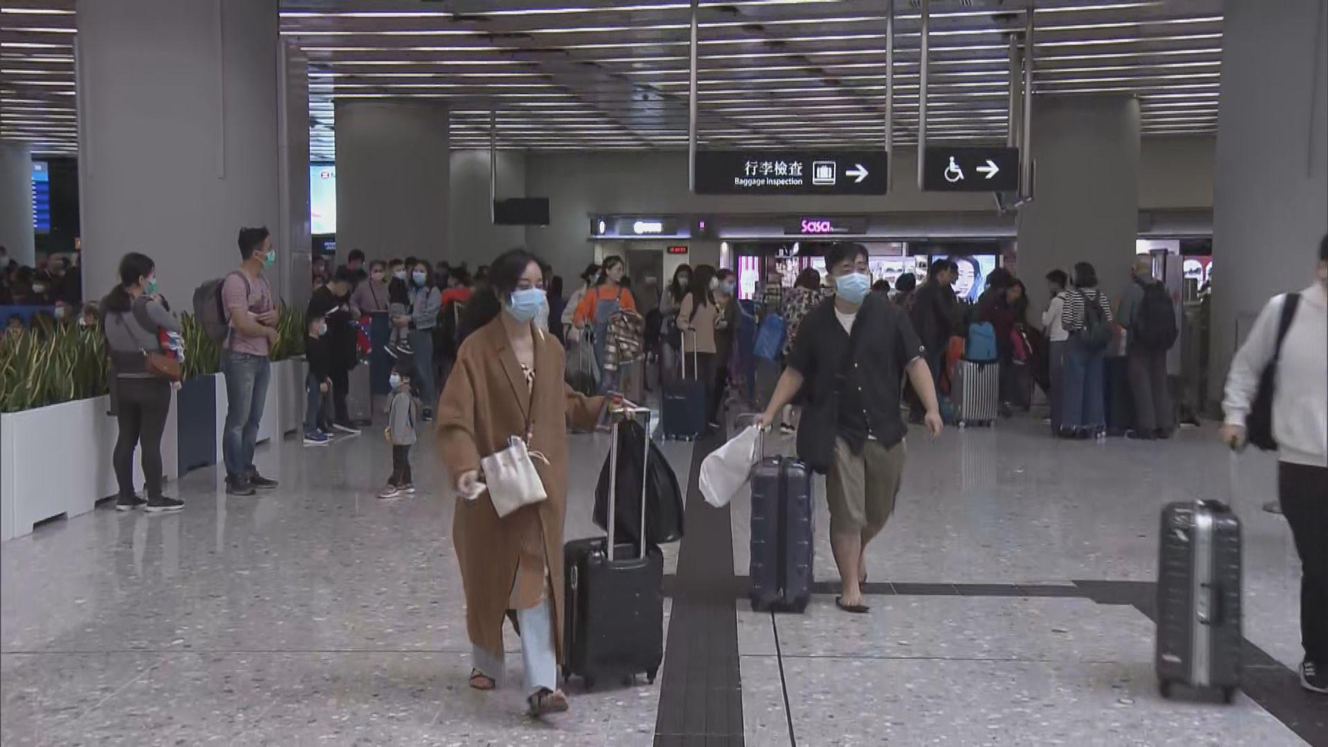 西九站高鐵乘客需提交健康申報表 關口無逼滿乘客