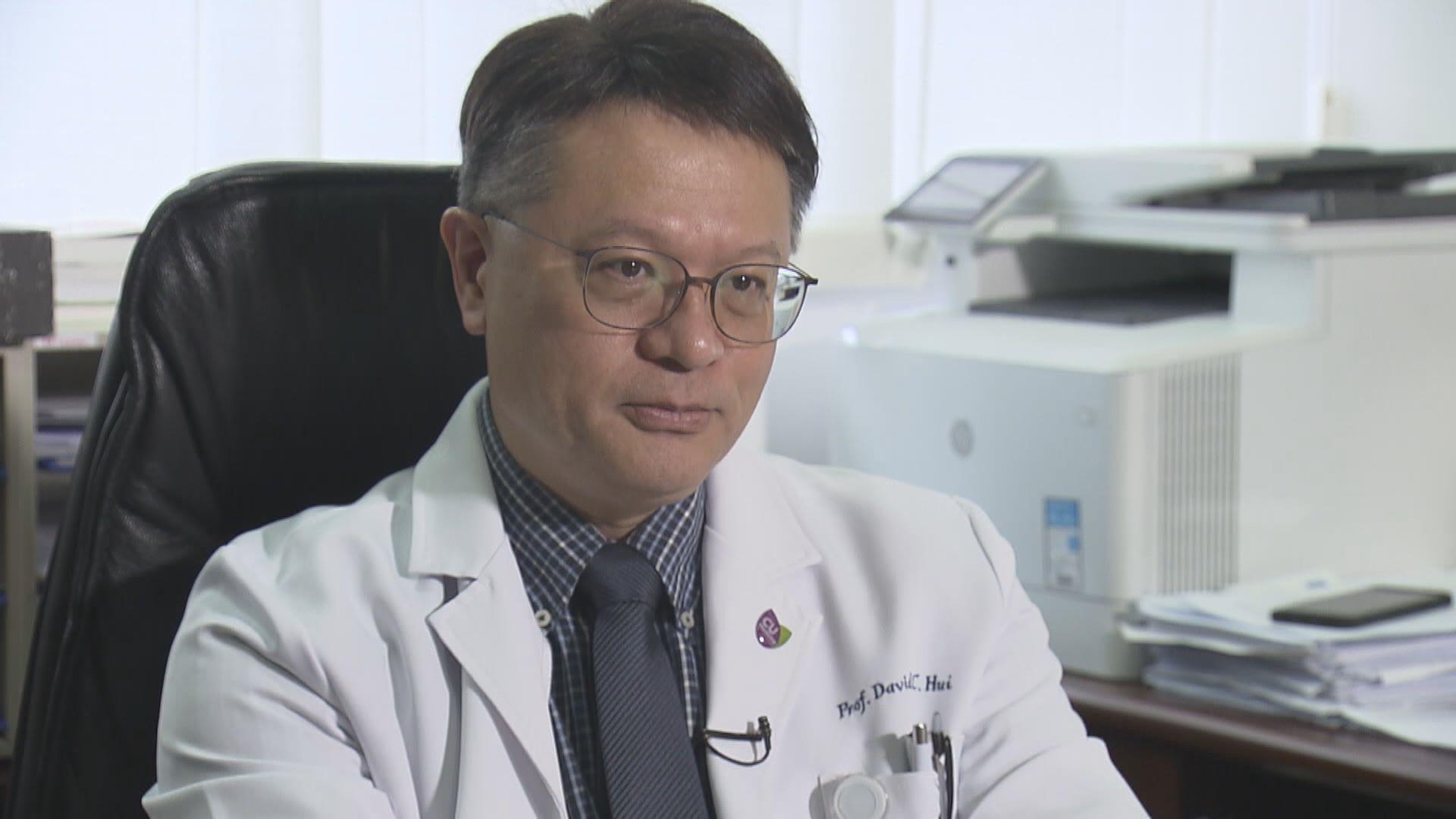 許樹昌:新型冠狀病毒傳播力較沙士弱 有限度人傳人