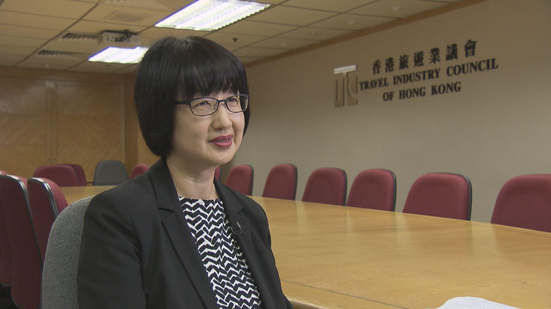 旅遊業議會:暫未收到去武漢以外內地的旅行團會取消