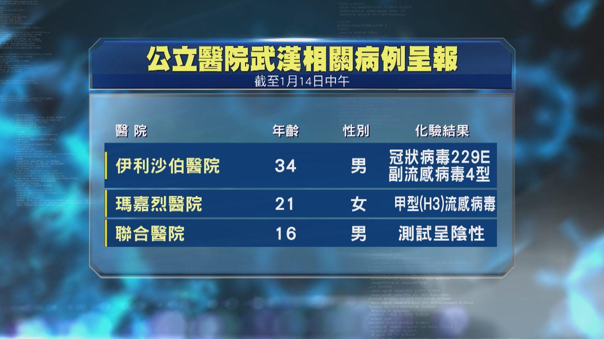 再多三人從武漢返港後出現感染病徵 累計增至71人