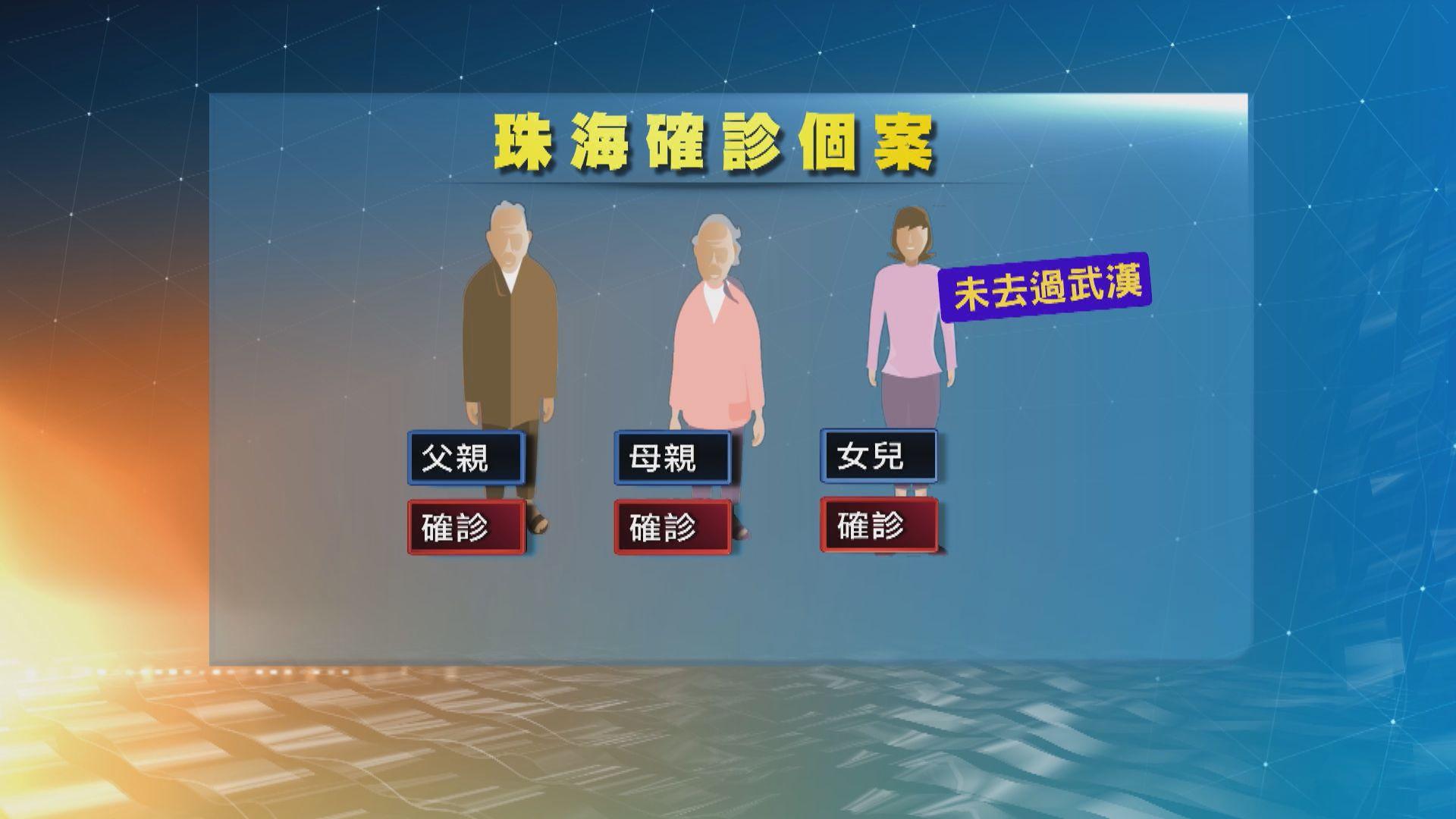 兩名廣東病人未去過武漢受感染