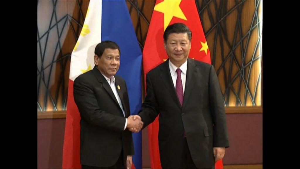 習近平:將會共同維護南海和平