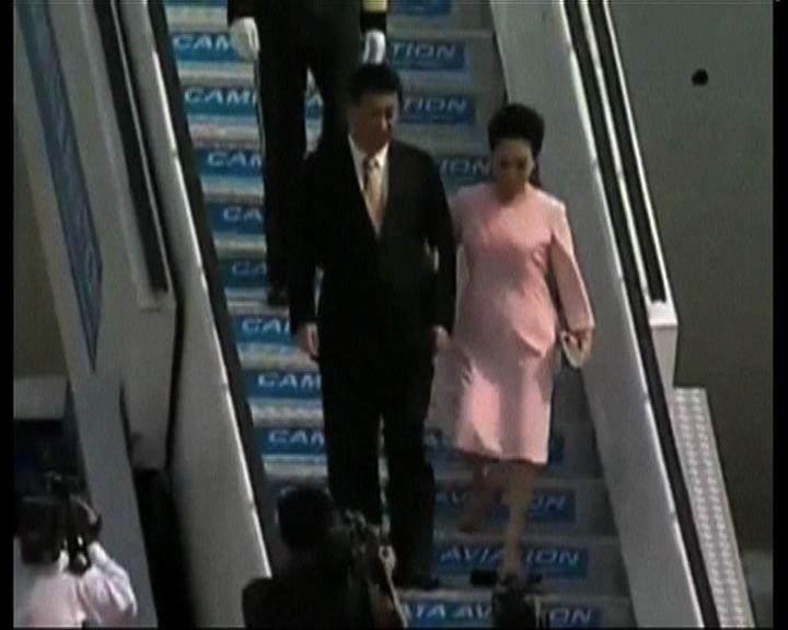 習近平抵印度訪問與總理莫迪晚膳