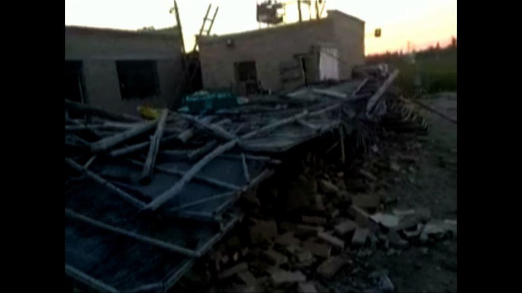 新疆精河縣6.6級地震 最少34傷