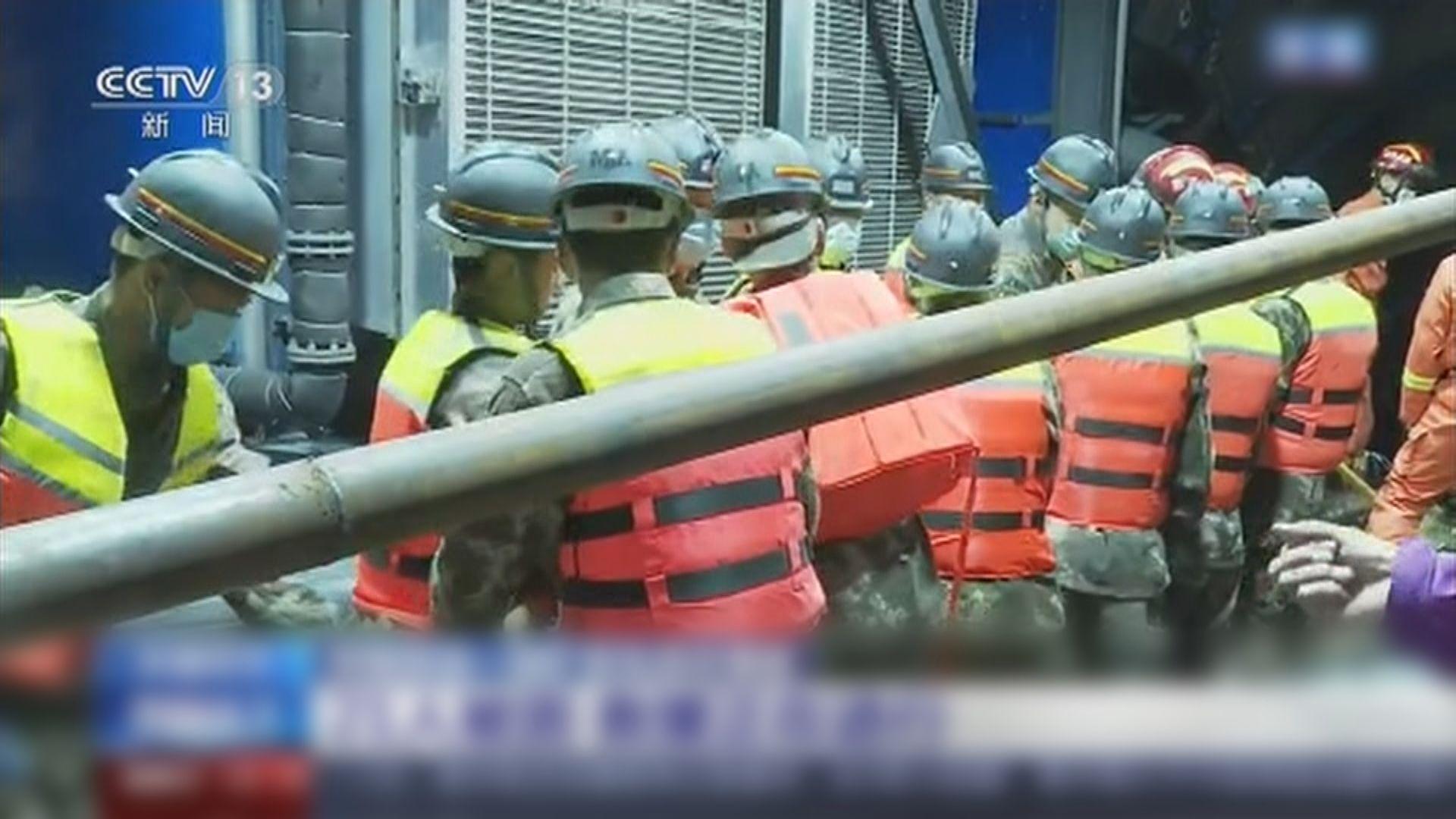 新疆煤礦滲水事故21人被困 井下結構複雜增搜救難度