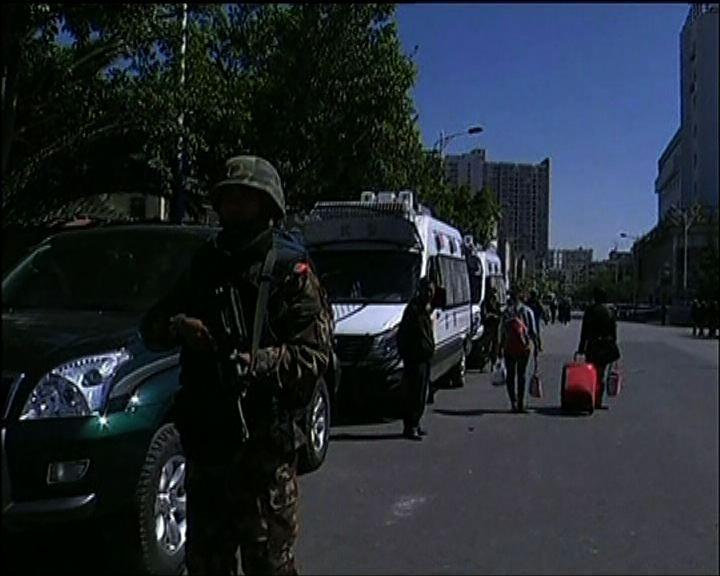 新疆警方拘捕二百恐襲疑犯