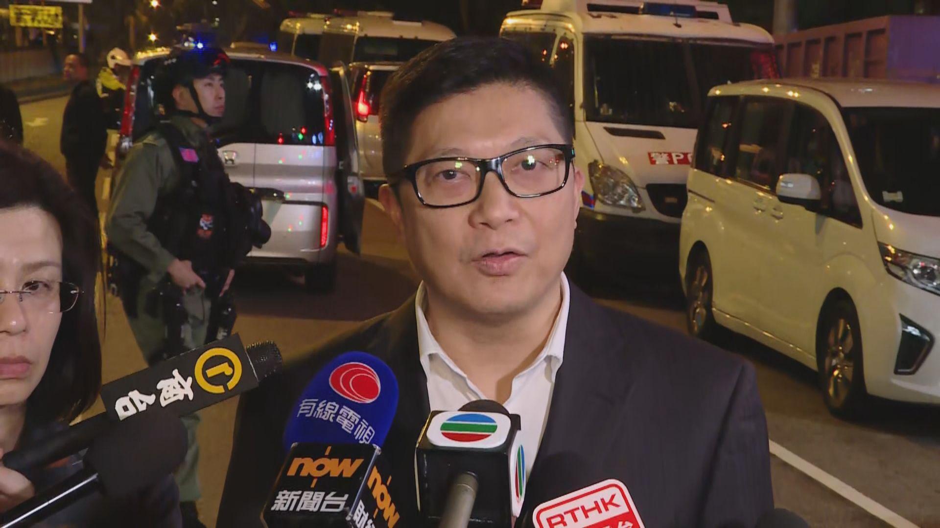 鄧炳強:本港治安惡化與大部分警力應付示威活動有關