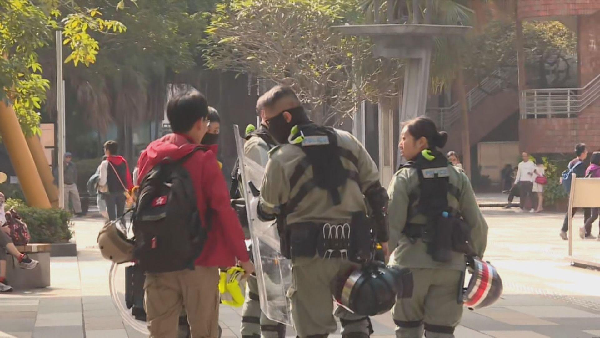 網民發起多區街頭聚集 警方加強布防