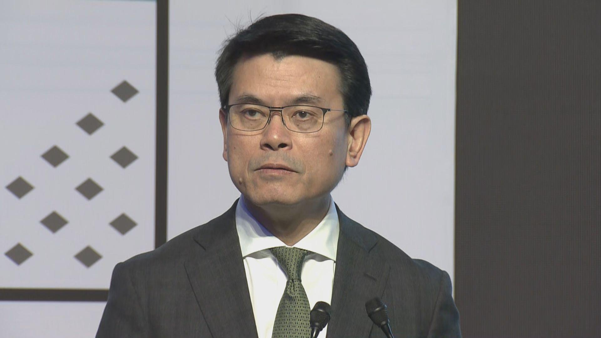 邱騰華:外商對本港基本因素有信心