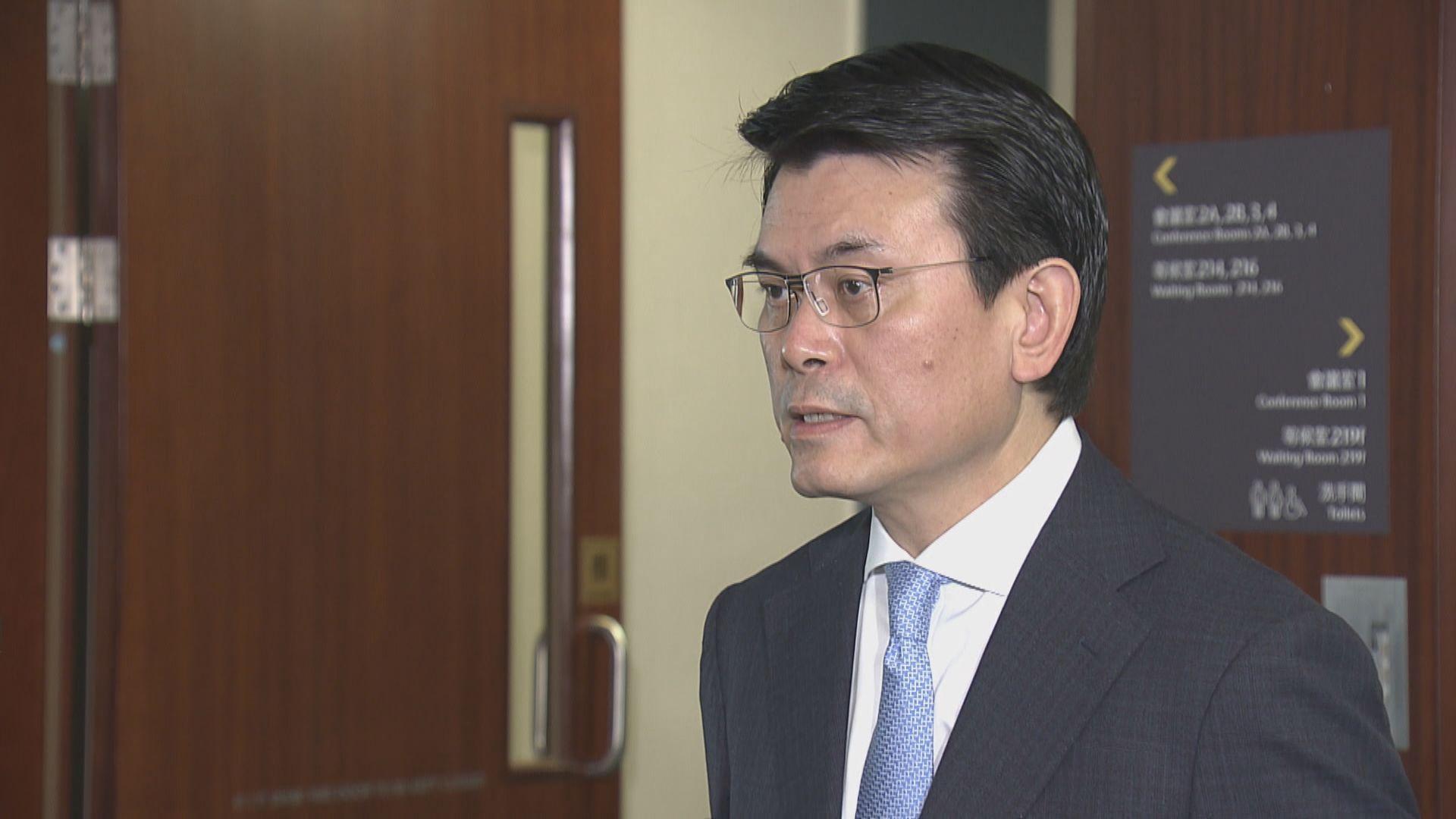 邱騰華:酒店業界未必願意整棟酒店做隔離