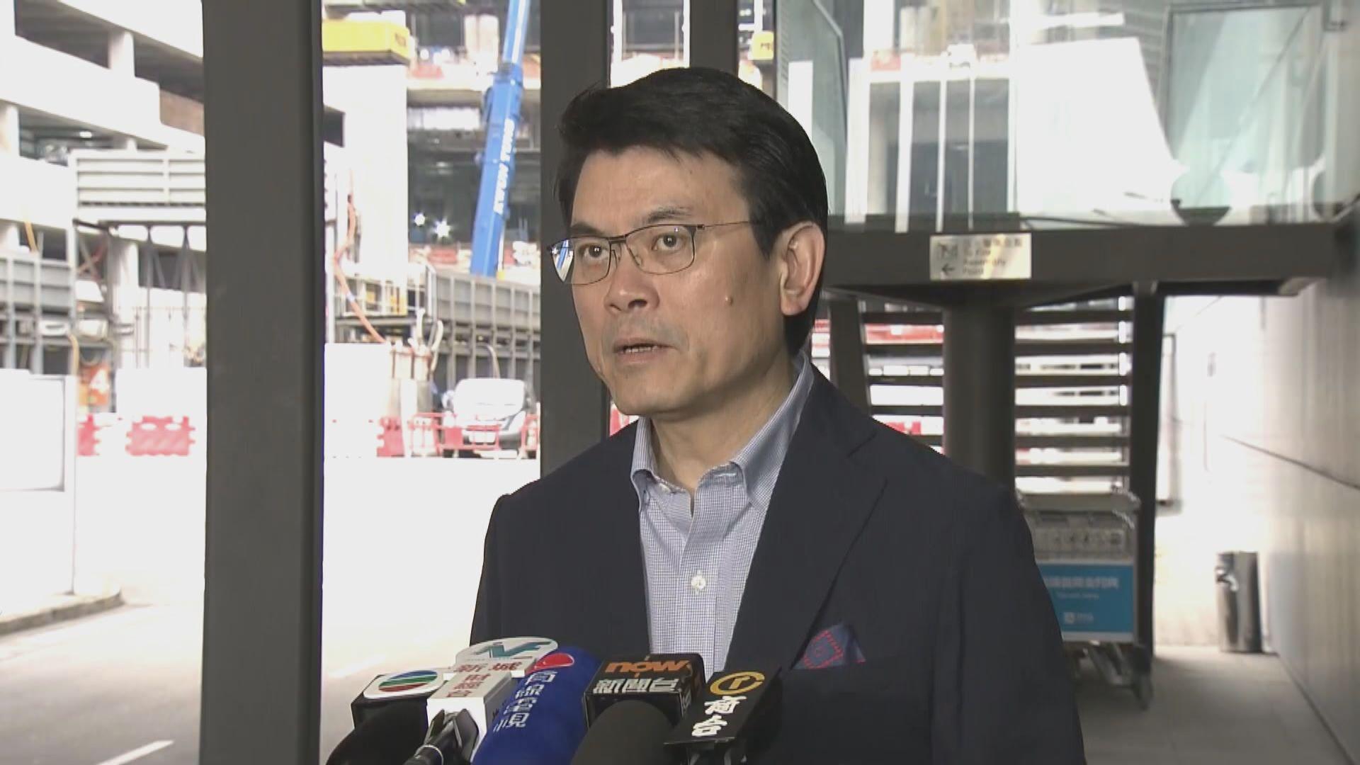邱騰華:會繼續關注中美貿易戰對港影響