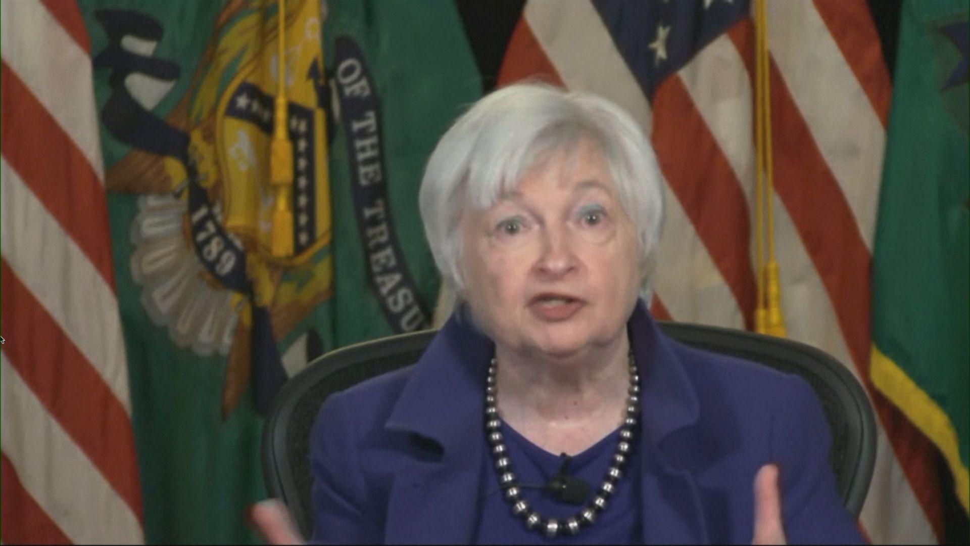 耶倫:疫情紓困方案將有助美經濟非常強勁復甦