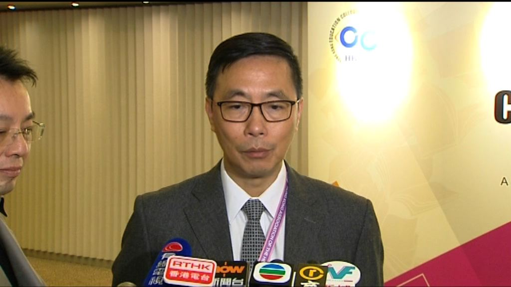 楊潤雄:相信浸大會按程序調查兩名學生被停學事件