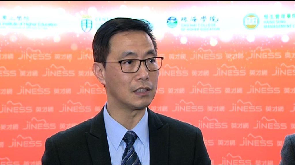 楊潤雄:訂國歌法後不影響學校運作