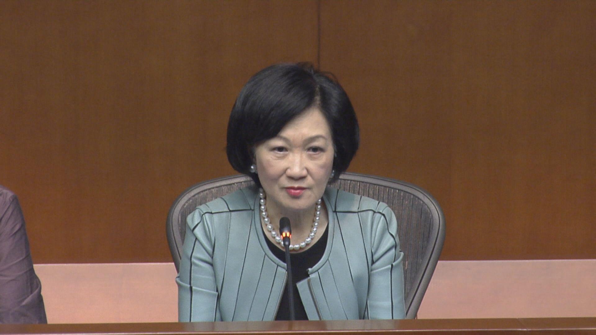 葉劉:得悉有參議員對法案有保留