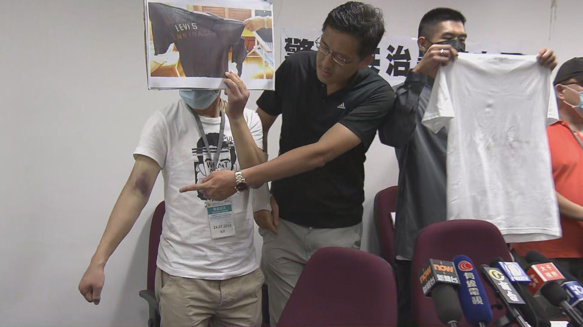 【元朗襲擊】傷者批評警方無保護市民