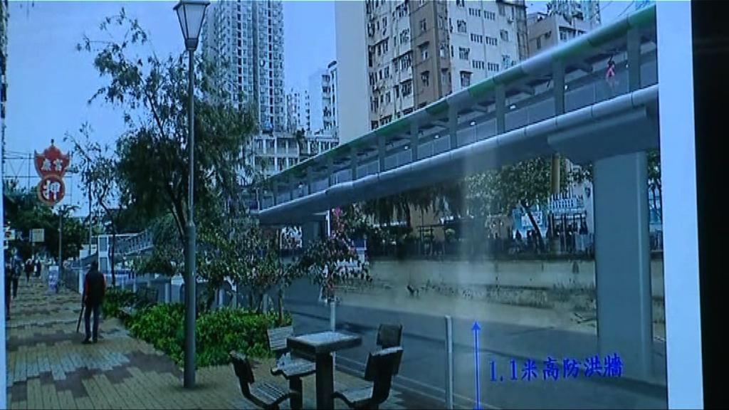 政府押後十七億元朗天橋撥款申請