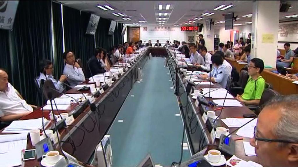 元朗區議會討論橫洲發展計劃