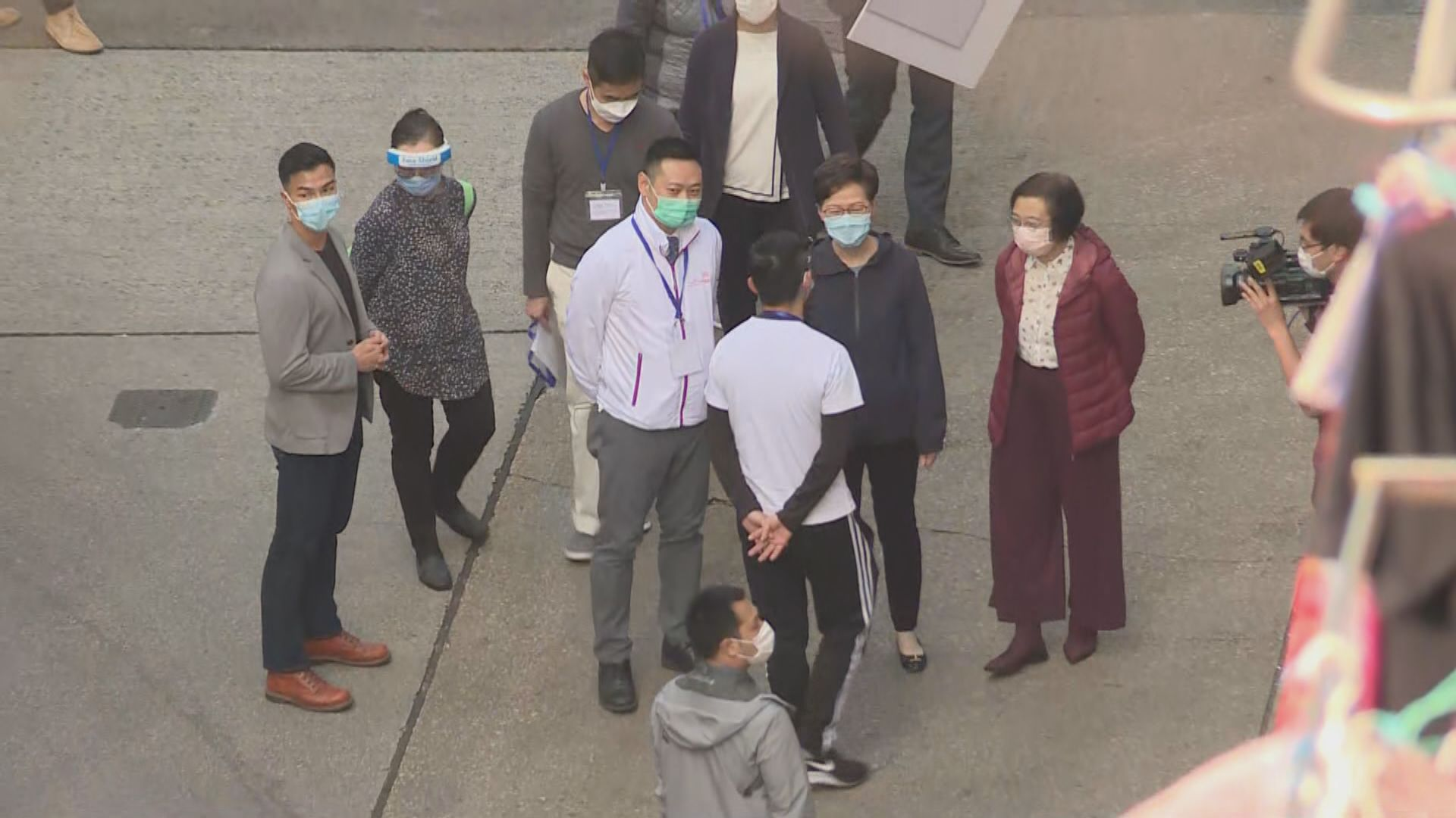 林鄭月娥否認封區擾民 考慮下次提早公布細節