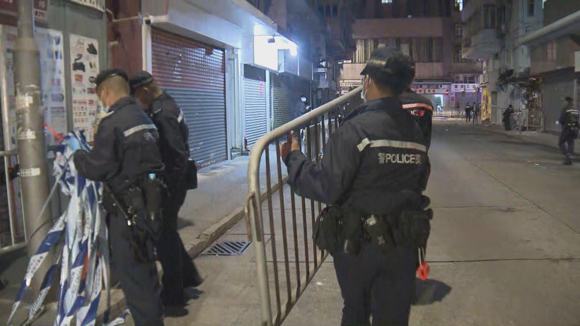 油麻地碧街東安街解封 約3成單位無人應門