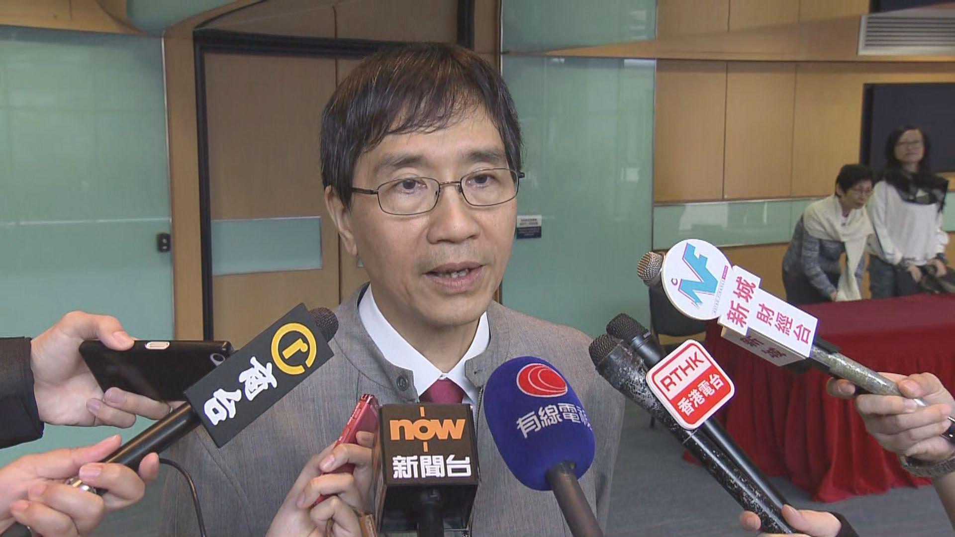 袁國勇:因應流感要停課言之尚早