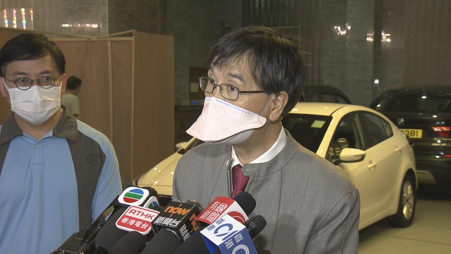 袁國勇:不排除初確菲傭於檢疫酒店內經空氣傳播感染