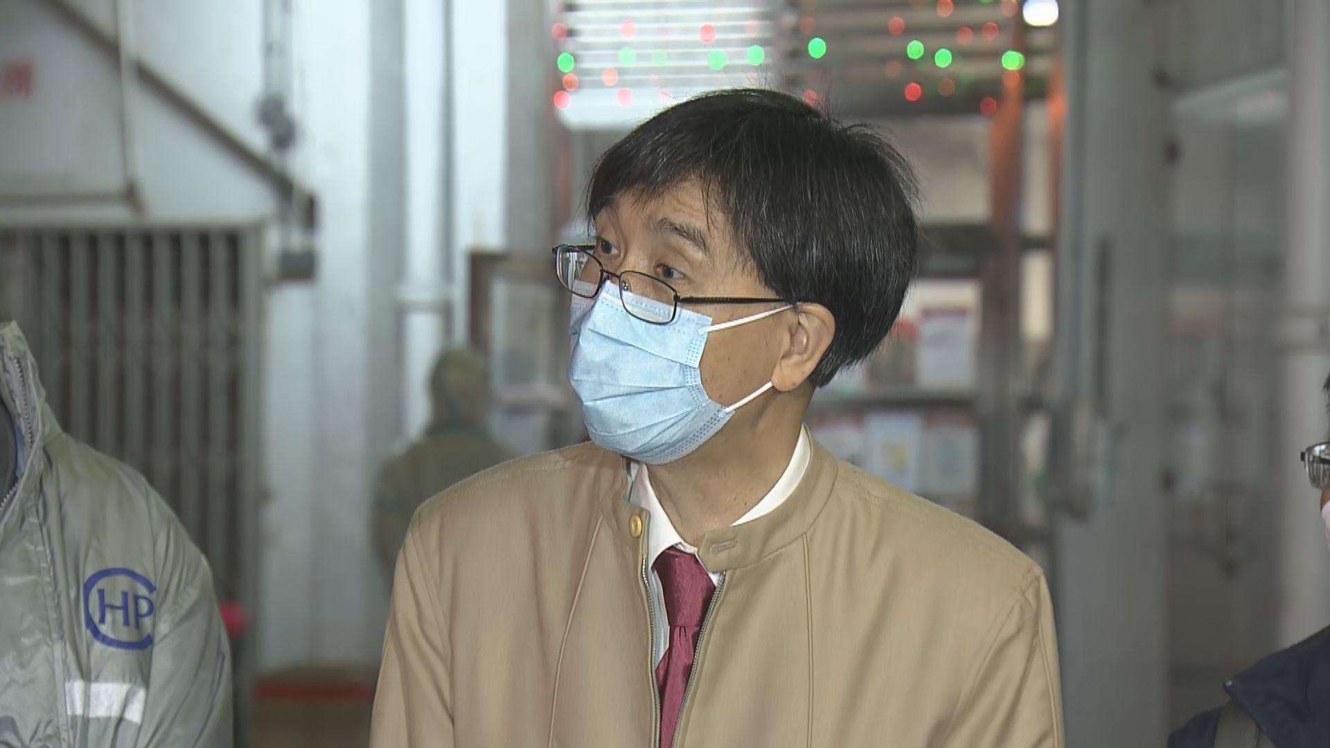 袁國勇:會接種在內地製造港大疫苗