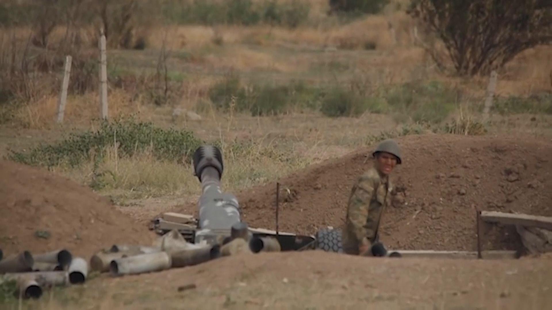 亞美尼亞阿塞拜疆邊境衝突持續 美俄促請各方立即停火