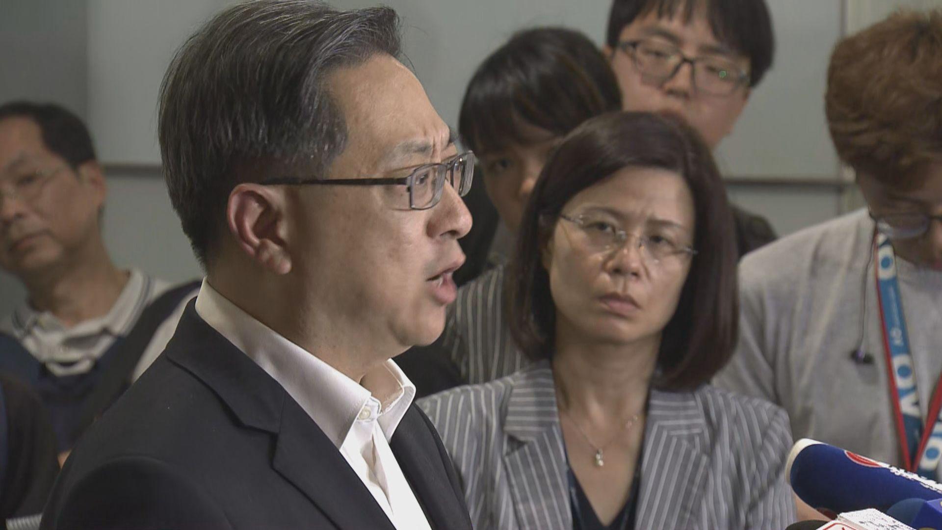 盧偉聰澄清不涉暴力衝擊不干犯暴動罪