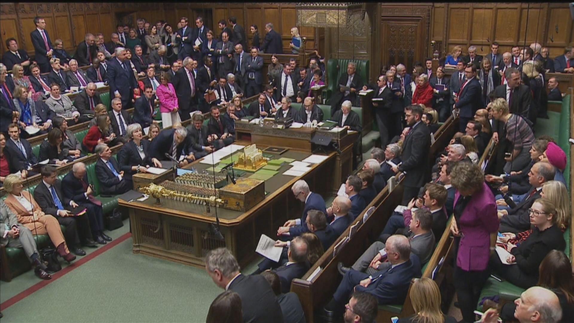 英國國會押後表決脫歐協議草案