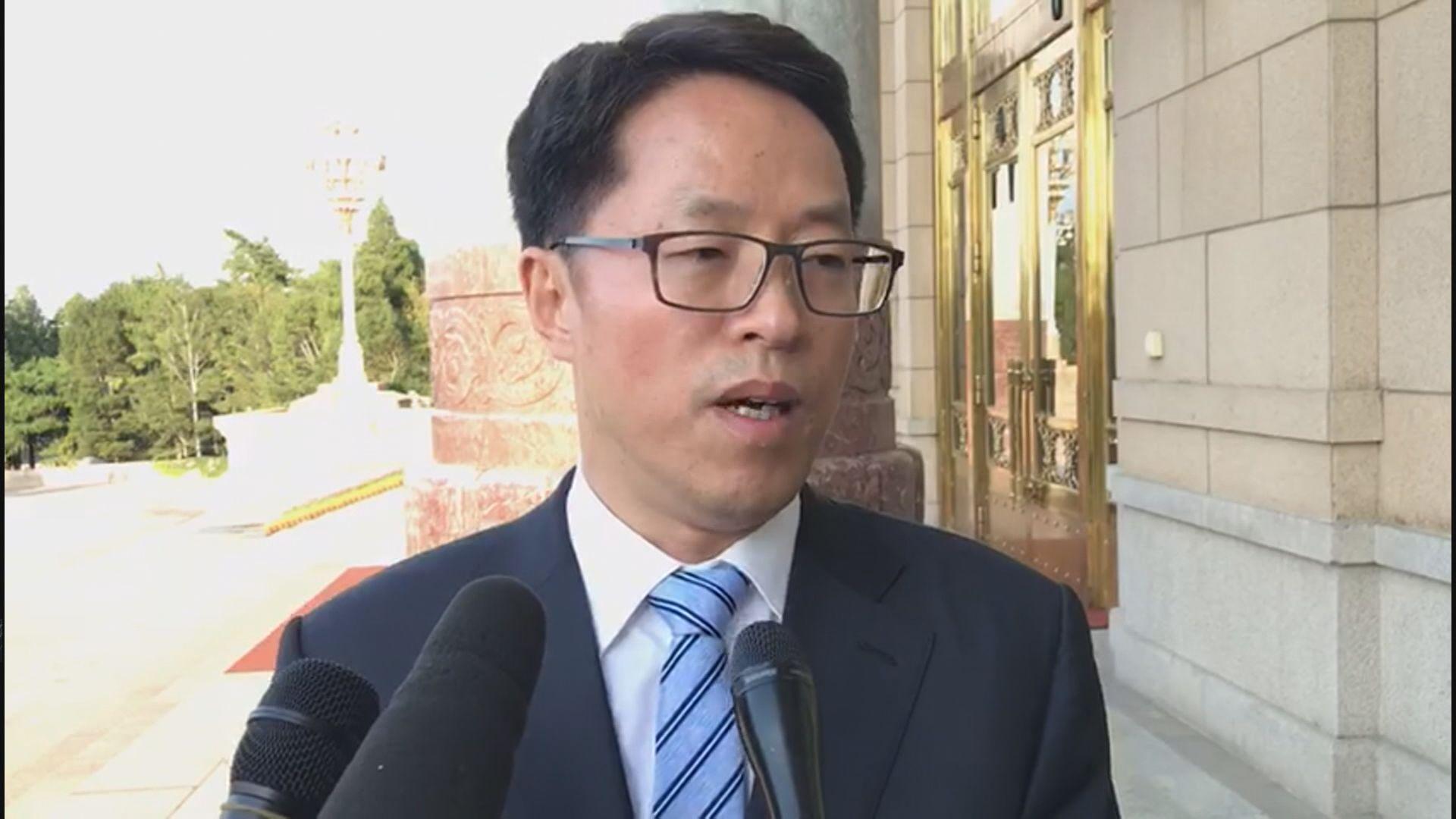 張曉明林鄭批評外國記者會超底線