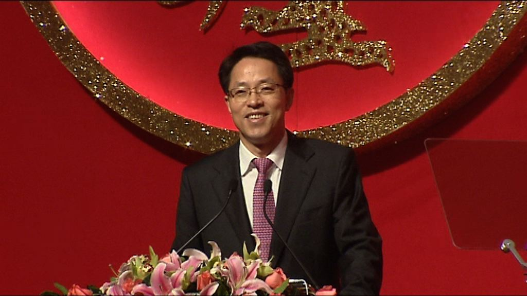 消息:張曉明認為林鄭會獲中央支持